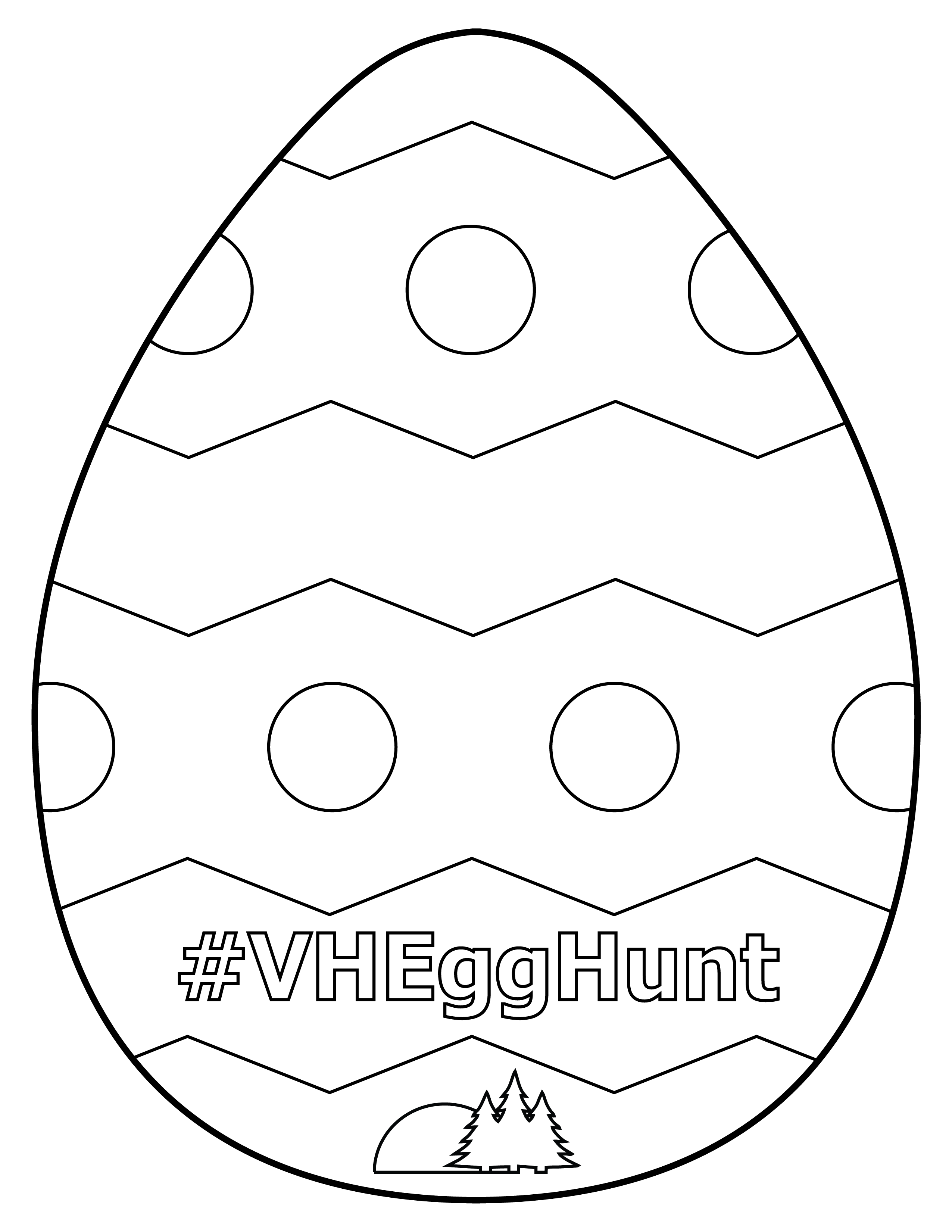 Egg Hunt Printable Opens in new window